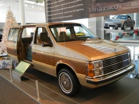 1984 Plymouth Voyager Minivan