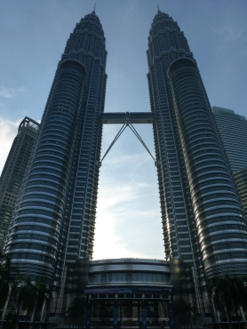 Petronas Towers and signature skybridge