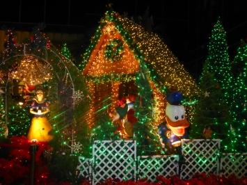Mickey and Donald at LH Bank Plaza