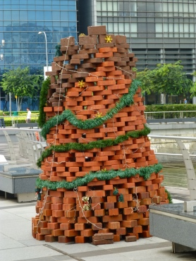 Brick Tree on Singapore River