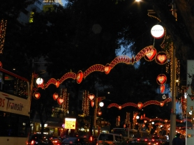 Lights over Orchard Road