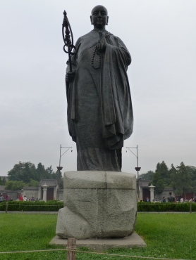 Statue of Xuan Zang