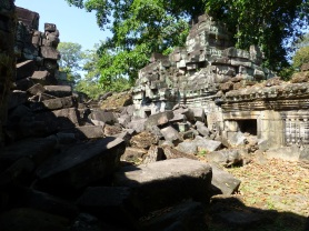 Rubble at Preah Khan