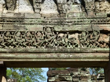 Hall of Dancers at Preah Khan