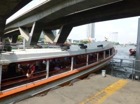 Chao Phraya River Express at Sathorn Pier