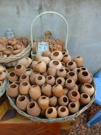 Terracotta jars -- 5 baht (15 cents) each