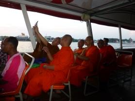 Buddhist monks taking group photo