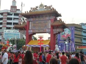 Gateway to Bangkok's Chinatown