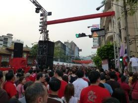 Yaowarat Road on Chinese New Year
