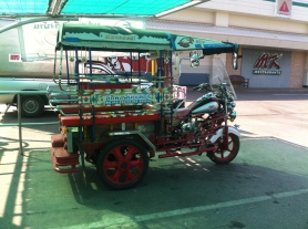 Motorcycle-based Tuk-Tuk in Issan