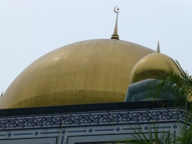 Main gold dome