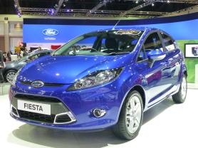 Freshened Ford Fiesta