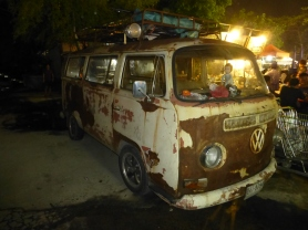 VW bus in need of restoration