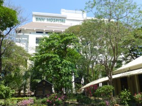 BNH Hospital from Christ Church