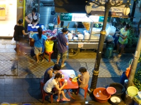 Dinner time on Silom
