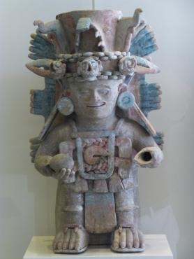 Mayan Sculpture at Museo Maya de Cancún