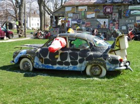 Penny car in Heidelberg Project