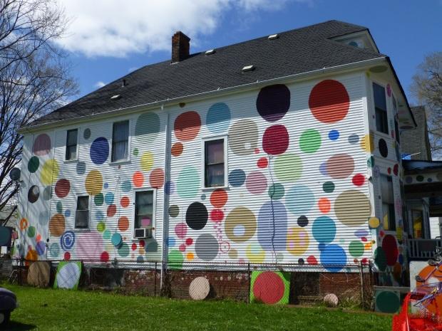 Polka Dot House on Heidelberg Street