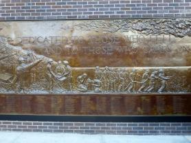 9-11 Memorial Plaque