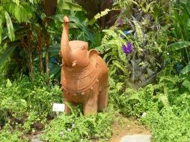 Elephant Statue in Indina Garden