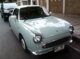1991 Nissan Figaro, Front