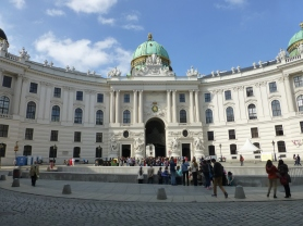 St. Michael's Wing (Michaelerplatz) at Hofburg Palace