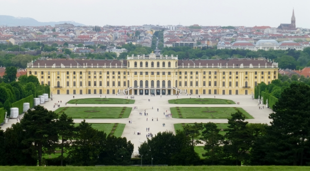 Schönbrunn Palace from the Glorietta