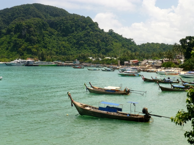 Ton Sai Bay on Ko Phi Phi Don
