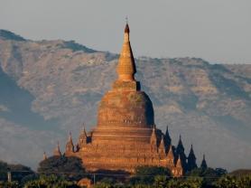A bell-shaped pagoda